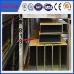 Buy cheap 6000 series hollow bar aluminium profile, Powder coated extruded aluminium square tube product