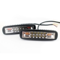 Buy cheap 1300LM IP67 LED Emergency Light Bar Rotary Red And Blue product