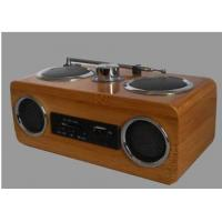 Buy cheap bamboo speaker (with radio) product