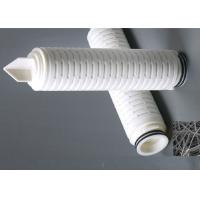 China Melt blown Polybutylene membrane filter cartridge absolute filtration for oxidize water OD 68mm on sale