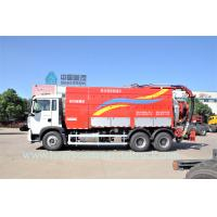 Buy cheap Professional T5G Sewage Pump Truck , Sewer Cleaning Truck Large Capacity from wholesalers