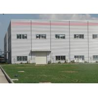 Buy cheap Large Metal Frame Workshop / Modular Steel Buildings With Parapet Wall product