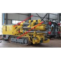 Buy cheap Yellow Raise Boring Rig Self Lubricating / Maintenance Free Crawler Chassis from wholesalers