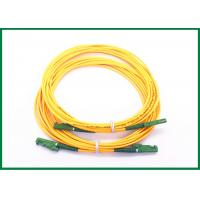 China Gigabit Ethernet E2000/APC fiber optic cable patch cord with Ultra fiber LSZH on sale
