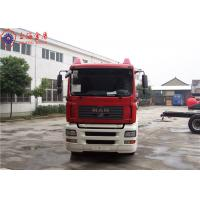 Buy cheap Sinotruk HOWO MAN Chassis Water Tanker Fire Truck 265kw With Total Side Girder product