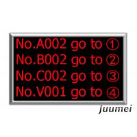 Buy cheap Bank Queue Calling System Main LED Display 4 Lines Juumei LD06D product