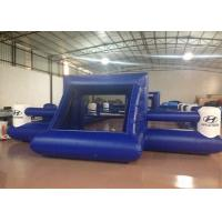 Buy cheap Outdoor Funny Inflatable Football Games Digital Printing dark blue customized inflatable football area product