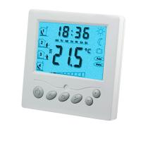 Programmable Room Heated Floor Thermostat For Household , CE Standard