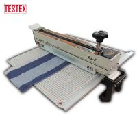 Buy cheap Laser Alignment Right Angle Rail Swatch Cutting Machine for Parallel Swatch Cutting product