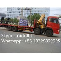 Buy cheap hot sale best price dongfeng 8x4 LHD 14tons crane truck mounted crane, factory from wholesalers