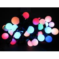 Round Christmas String Lights : 30Bulbs outdoor led round ball christmas lights white ball string - 99875541