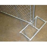 Buy cheap 50x50 Mm Mesh Construction Chain Link Fence Privacy Panels 2400 Mm Height product