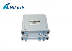 Buy cheap 1270-1610nm 1x2CH SMF CWDM Mux Demux Module product