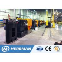Wire Metal Drawing Machine , Contact Wire Drawing Plant For Cu-Sn Copper Magnesium for sale