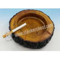 Buy cheap Colorful Poker Scanner Plastic Round Ashtray Hidden Cheating Camera product