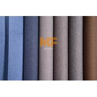 Buy cheap Velboa Gorgeous Multi Colored Upholstery Fabric Faux Linen Two Tone Effect product