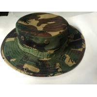 Buy cheap army round edge fashion cap/ Military Boonie Hat camouflage military cap hat embroidered product