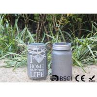 Buy cheap Customized Mason Jar Led Solar Lights , Solar Powered Mason Jar Lantern product
