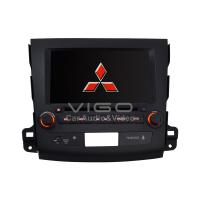 Buy cheap Red Mitsubishi Outlander Car Stereo Sat Nav DVD Player with IPod Control VML8054 product