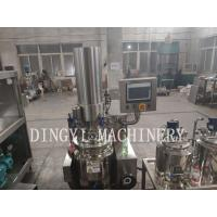 Buy cheap Dust Proof Vacuum Planetary Mixer With Hydraulic System Electronic Controller product