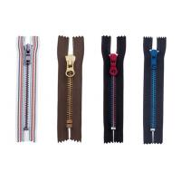 Buy cheap Semi-auto lock 8# metal zipper ,eco-friendly,OEM available for garment from wholesalers