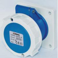 Buy cheap Multi Color Industrial Power Socket / Industrial Receptacles Protection Degree IP67 product