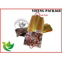 Buy cheap Food Grade Plastic Coffee Packaging Bags With Aluminium Foi Materials , Moisture Proof product