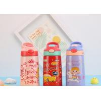Buy cheap Drinking Fashionable Childrens Water Bottle Vacuum Flask With Straw For Kids product