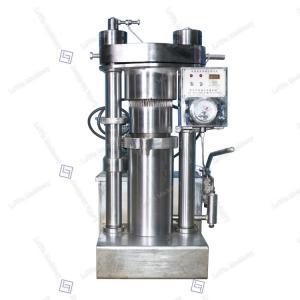 China Sesame Oil Hydraulic Oil Press Machine 4kg / Batch Capacity High Durability on sale
