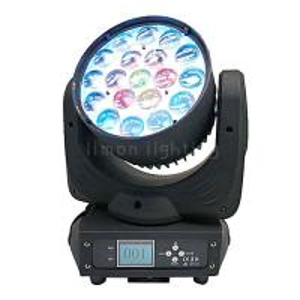 Buy cheap Stage Disco Bar DJ Lights 19x15w RGBW LED Moving Head Wash Zoom Light product