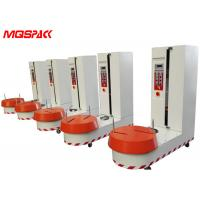 Buy cheap Stretch Film Airport Luggage Wrapping Machine Easy Tracking For Wrap Counter Device product