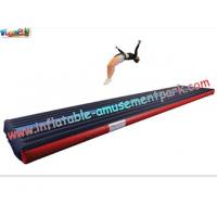 China Popular Air Tumbling Inflatable Track, Inflatable Sports Games Track With Different Size on sale