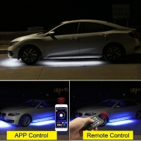 Buy cheap 12V Multicolor Car Underglow Lights , 4pcs Underglow Light Kits For Cars product