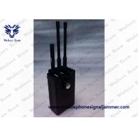 Buy cheap Portable RF Remote Control Jammer 315 / 433 / 868MHz Two Power Adapters from wholesalers
