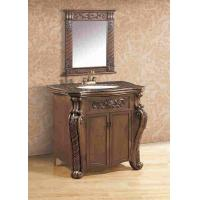 Freestanding Antique Polyresin Bathroom Cabinet With Mirror Vanity Combo - 103420974