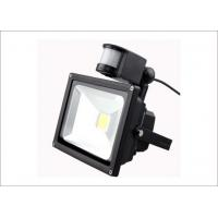 Buy cheap COB Infrared Outdoor Led PIR sensor Floodlight 50W Epistar 5000lm IP65 LED 3 Years Warranty from wholesalers