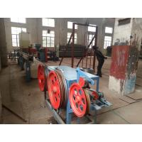 Buy cheap Hot Galvanized Iron Wire PVC Coated Machine for Hexagonal Wire Netting 4kw product