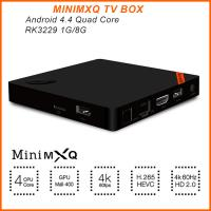 Buy cheap 2016 la última mini caja quad-core de la caja RK3229 1GB/8GB 4K Android 4,4 TV de MXQ TV mejor que MXQ product