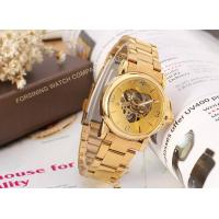 Buy cheap Beautiful Storm Winner Round Gold Ladies Automatic Watch Stainless Steel Bracelet  product