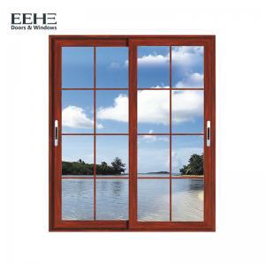 Buy cheap Balcony Double Glazed Aluminium Sliding Windows / Safety Contemporary Aluminium Windows product