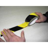 Quality Yellow and Black PVC Lane Marking Tape ( Colored Strip Tape) for sale