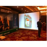 """Buy cheap 16/9 250"""" Outdoor & Indoor fast fold rear projection screen , quick fold screen product"""