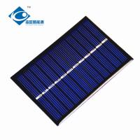 Buy cheap 0.65W 6V cheapest solar panel photovoltaic ZW-9060 Poly Silicon solar cell phone charger for solar power novelties product