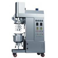 Buy cheap Siemens Touch Screen Controled Vacuum Emulsifying Machine With 200L Capacity product