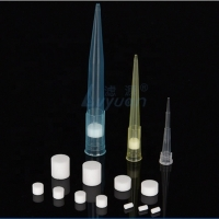 Buy cheap Microporous PTFE 300 Micron 20ul PVDF PA Pipette Tip Filter product