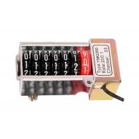 Buy cheap Single Phase Stepper Motor Counter Meter Accessories of Plastic product
