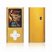 China MP4 Player with 8 Hours Play Time Music and 512MB to 16GB Optional Capacities on sale