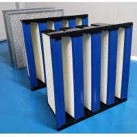 Buy cheap ABS Plastic Frame High Capacity HEPA Air Filter 99.99 Efficiency product
