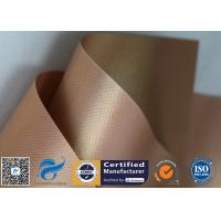 Buy cheap 2 Pack 0.2mm Copper PTFE BBQ Non Stick Silicone Baking Mat Oven Liner product