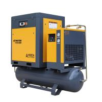 Buy cheap Combined Rotary Screw Air Compressor with tank, dryer and filter 22kw 30hp 8bar 2.3m3/min product